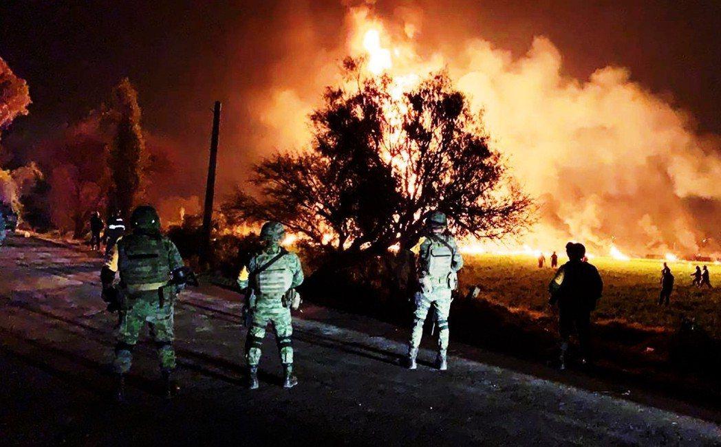 「我們看見了地獄,我們看見了地獄...。」 圖/墨西哥國防部