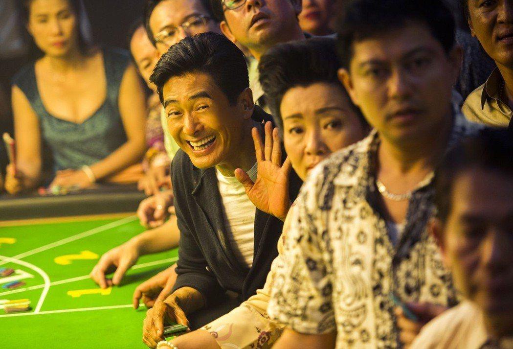 周潤發主演的《賭城風雲》系列在中國市場大賣。 圖/威視提供