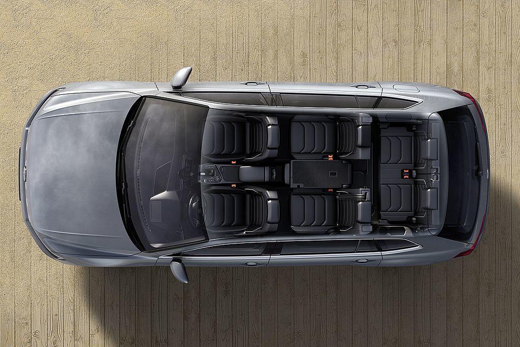 第二代福斯Tiguan除標準軸距外,還多了長軸Tiguan Allspace車型...