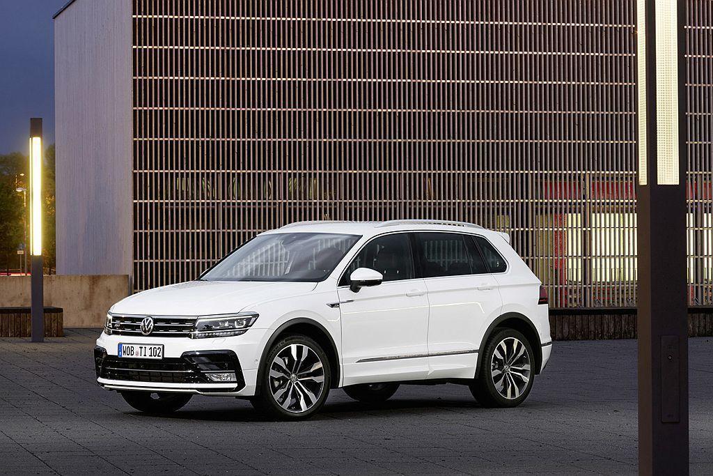 第二代福斯Tiguan在2017年全球交付超過70萬輛新車,2018年更成長到8...