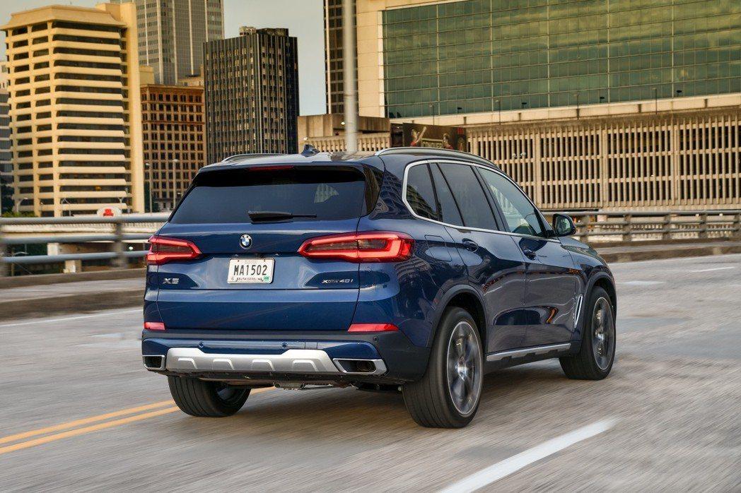 第四代BMW X5目前也已在國內市場販售中。 摘自BMW