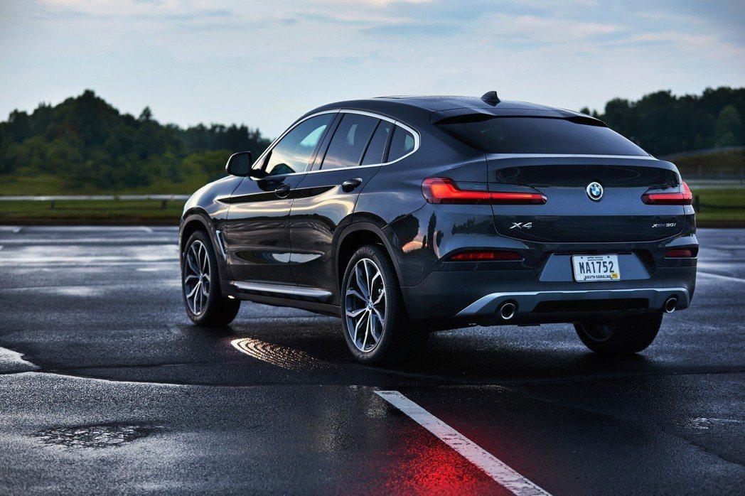 全新第二代BMW X4。 摘自BMW