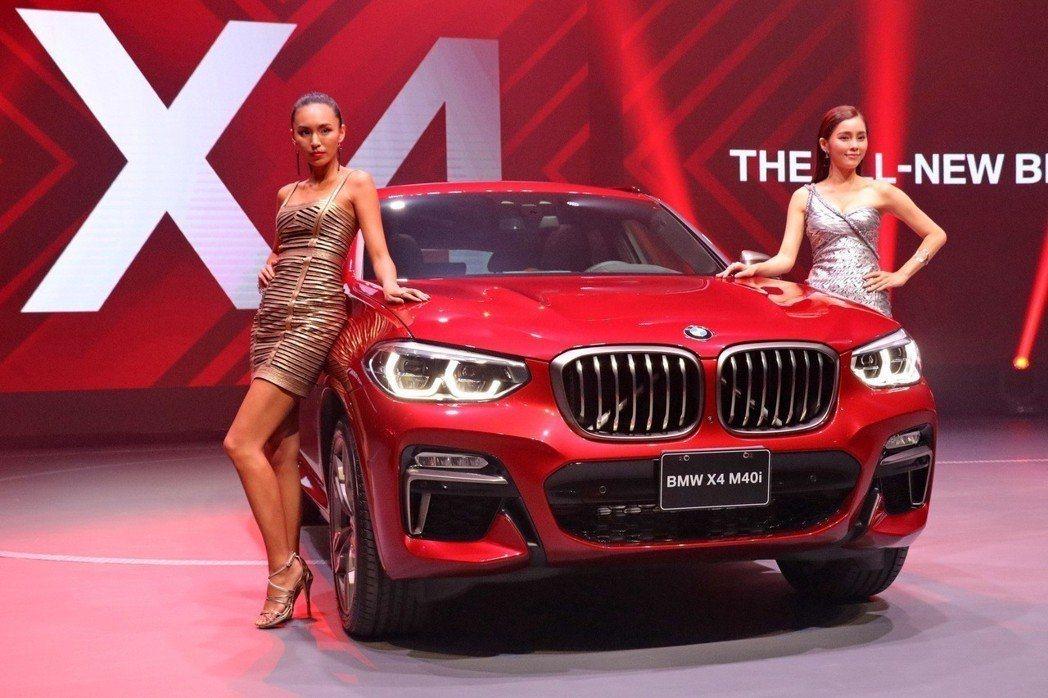 第二代BMW X4已正式登台發表,售價自253萬元起。 記者陳威任/攝影