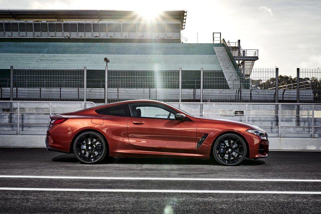 全新BMW 8 Series Coupe。 摘自BMW