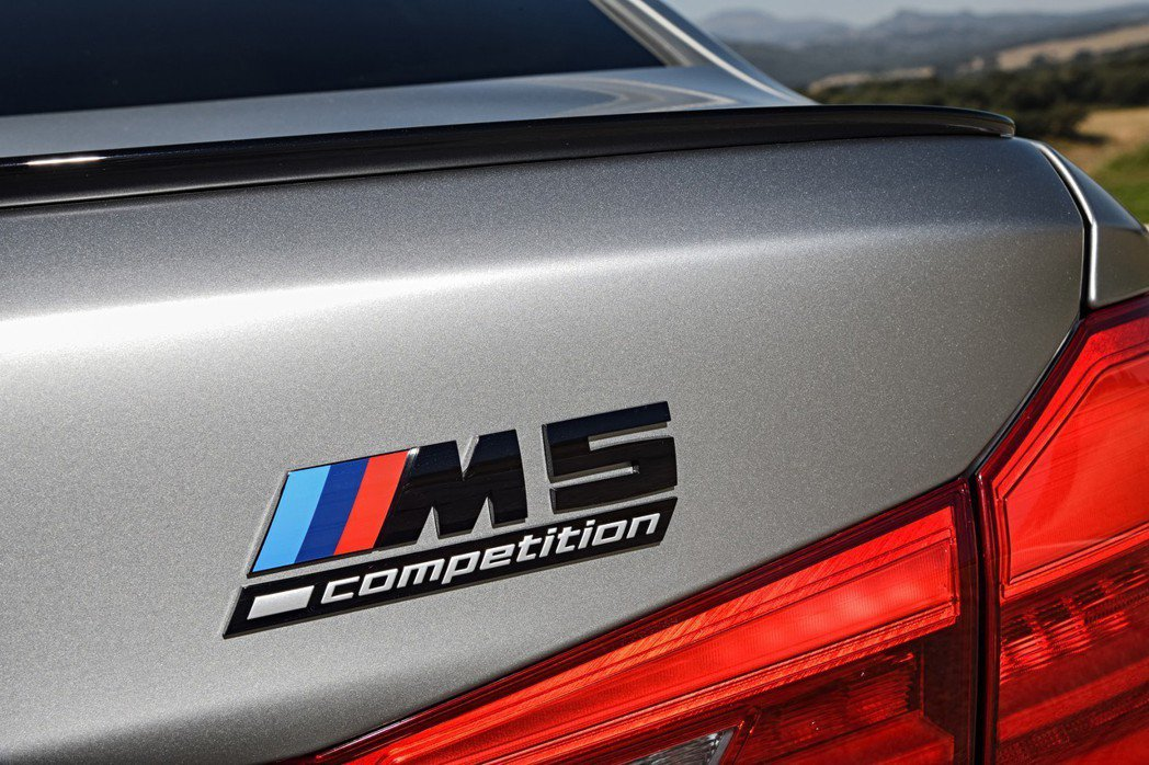 M5 Competition最大馬力增加至625hp 摘自BMW