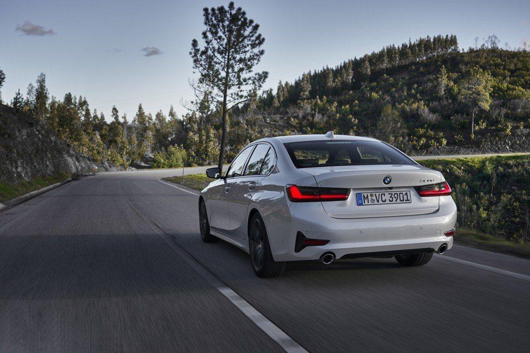 第七代BMW 3 Series Sedan即將在今年三月抵台上市。 摘自BMW