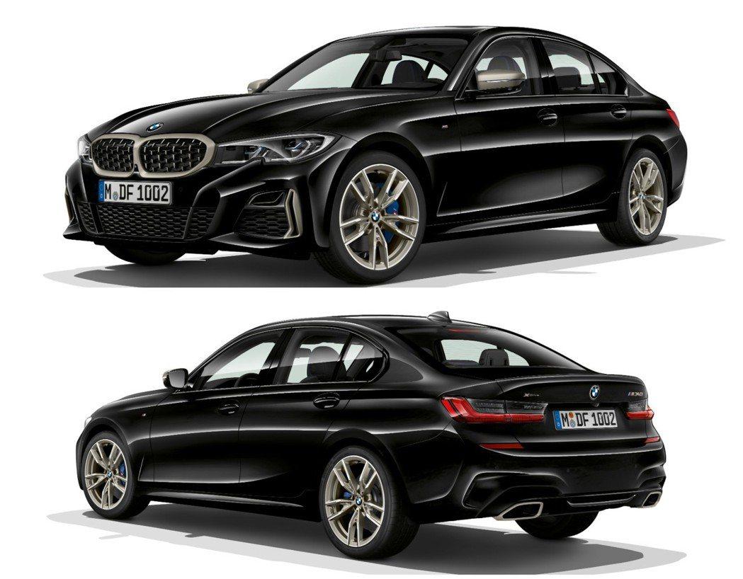 新世代BMW M340i。 摘自BMW
