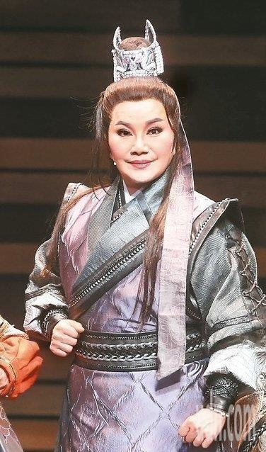 歌仔戲演員唐美雲獲得行政院文化獎。聯合報系資料照