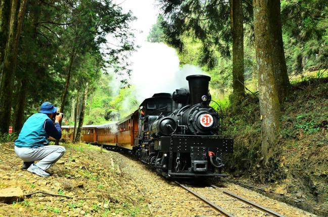 阿里山林業鐵路。圖/林格提供