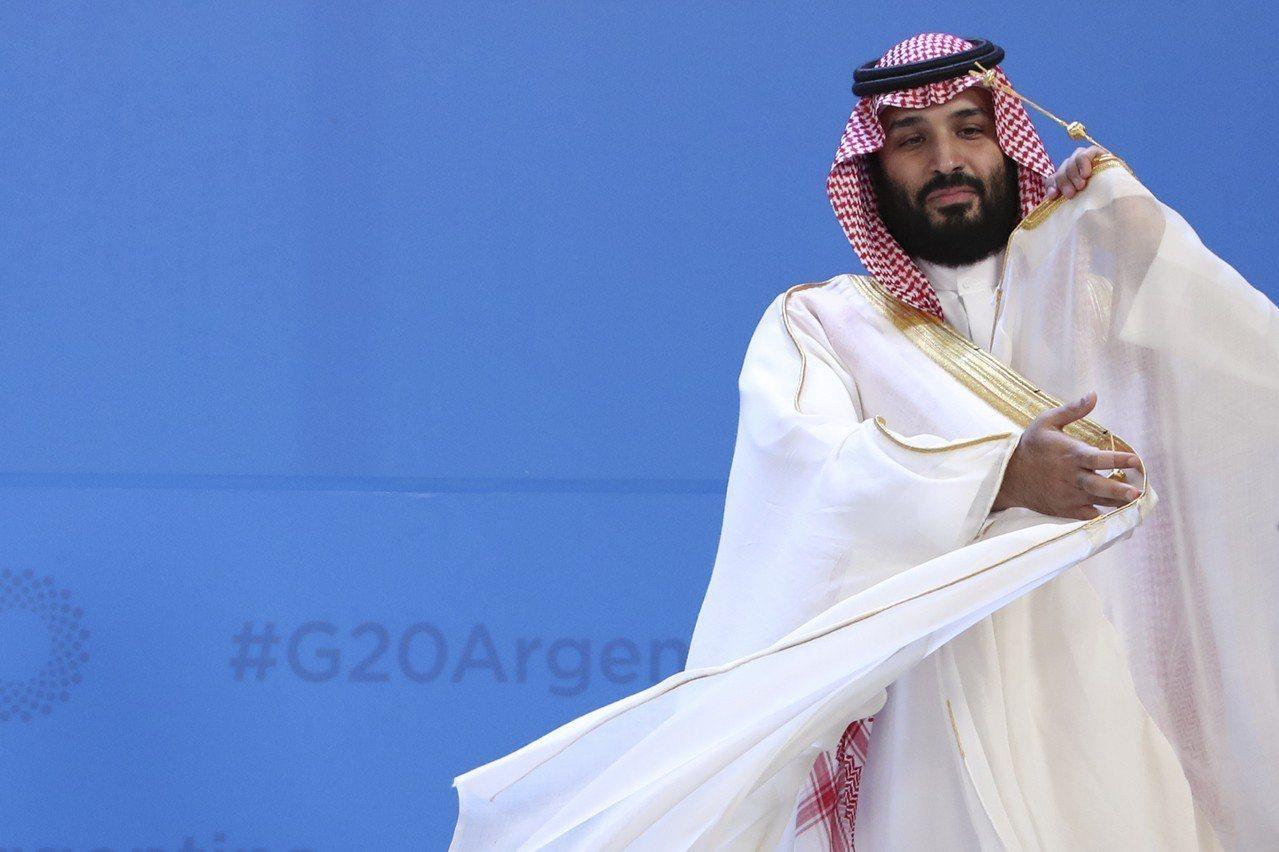沙國王儲穆罕默德。美聯社