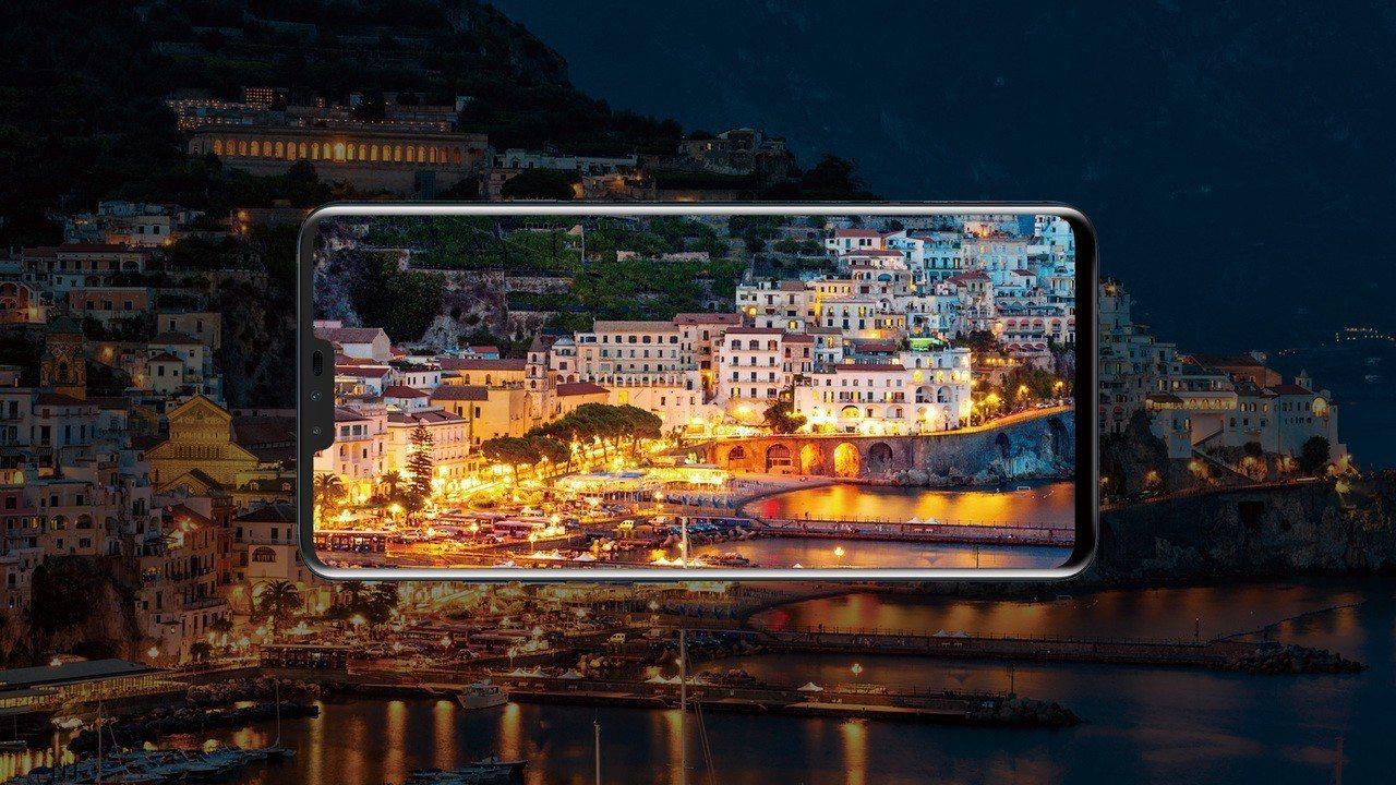 LG V40 ThinQ的AI相機再升級,透過全新的AI相機3.0、AI拍照抗模...