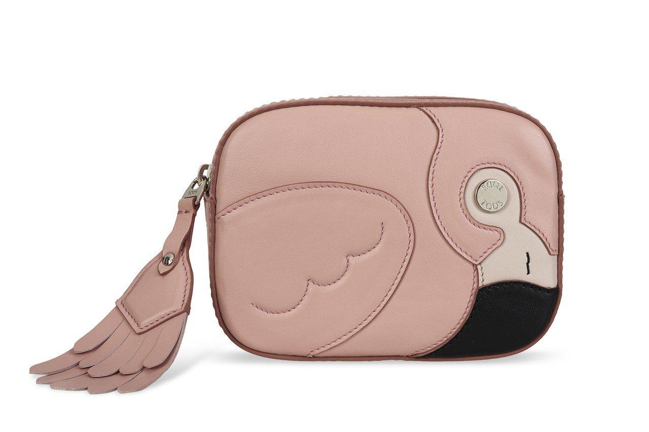 紅鶴造型牛皮包,售價31,200元。圖/TODS提供