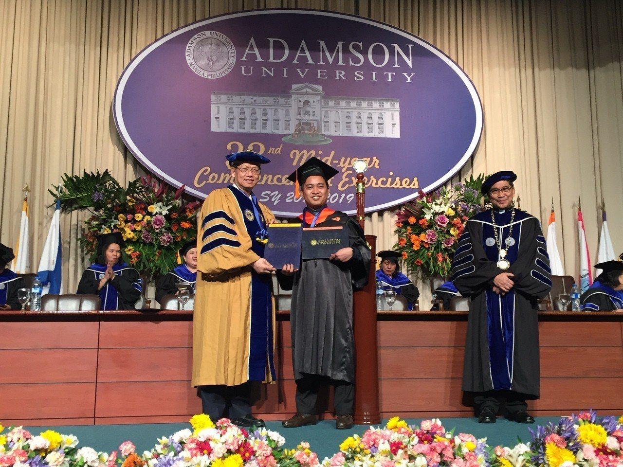 明新科技大學與菲律賓亞當森大學跨國合作雙聯學位,兩校雙聯學制首批學生共15位學生...