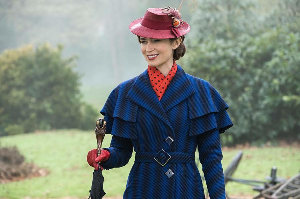 艾蜜莉布朗在「愛‧滿人間」扮演充滿魔力的保母包萍。圖/摘自imdb