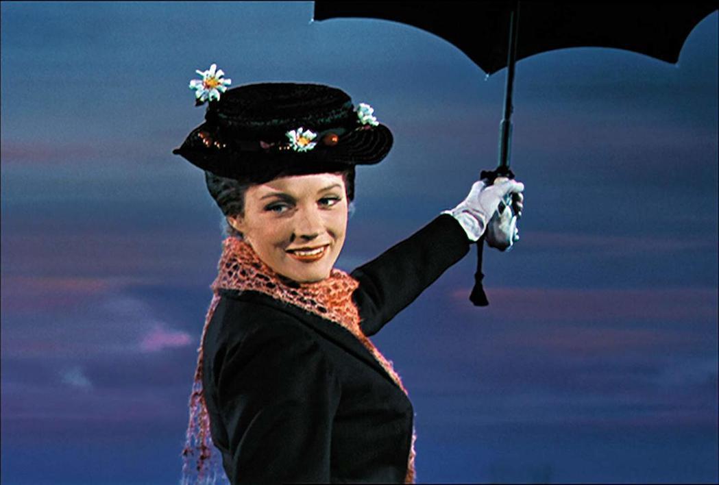 茱莉安德魯絲因「歡樂滿人間」大紅大紫,並勇奪奧斯卡影后。圖/摘自imdb
