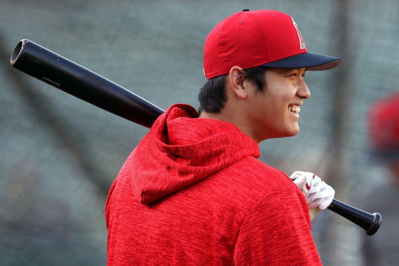 大谷翔平今年只能擔任打指定打擊,天使先發投手陣容實在薄弱。 路透社