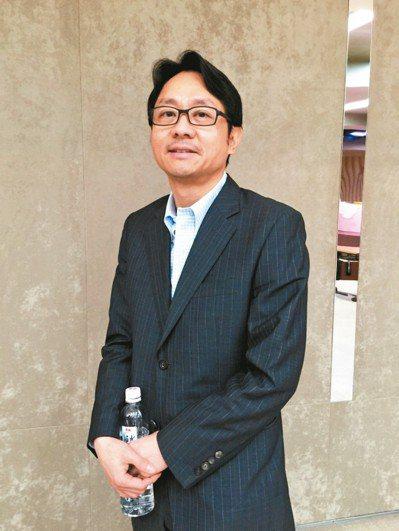 彩晶董事長焦佑麒。 記者蕭君暉/攝影