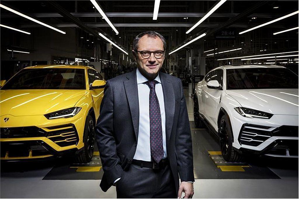 Automobili Lamborghini S.p.A. CEO Stefan...