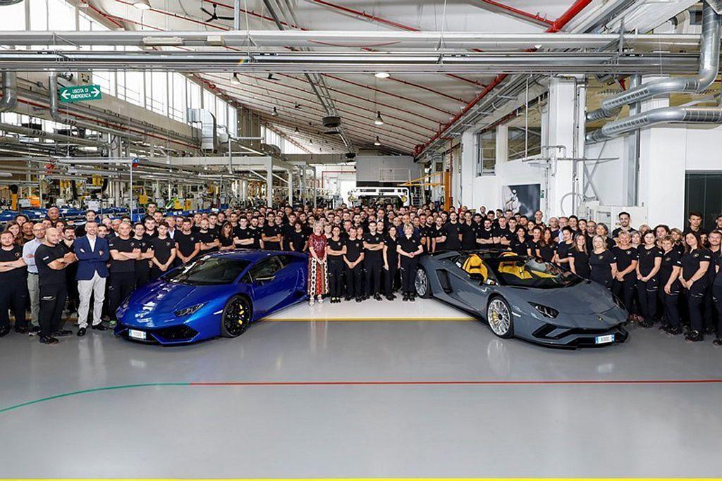 義大利超跑品牌藍寶堅尼銷售量從2017年的3,815輛,到去年大幅增長到5,75...