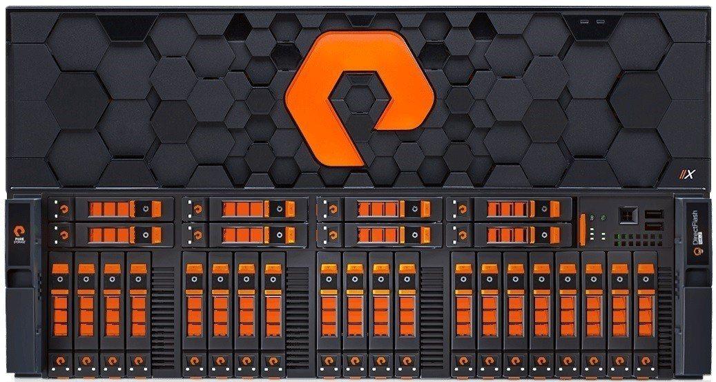 Pure Storage針對雲端設計NVMe企業級全快閃儲存陣列FlashArr...