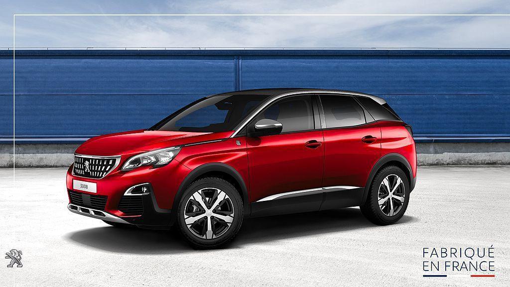 Peugeot汽車表示:Peugeot 3008都會休旅車去年在法國Sochaux新車生產基地共組裝258,460輛並銷售到全球各地,成為當地產量最大的新車。 圖/Peugeot提供