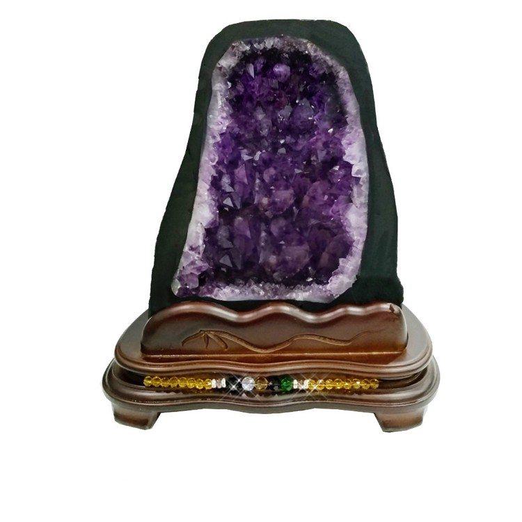 【A1寶石】頂級巴西天然紫晶洞 圖片由廠商提供