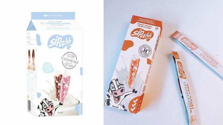 圖/Sipahh調味吸管60入草莓/巧克力210公克-399元,Beauty美人...