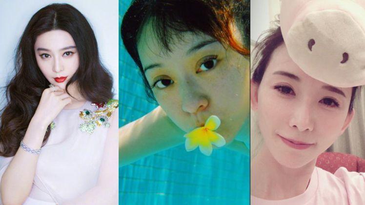圖/范冰冰微博;陳意涵微博;林志玲IG,Beauty美人圈提供