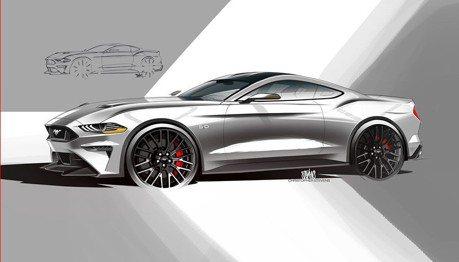 Ford申請雙馬達V8專利!新Mustang將導入油電四驅?