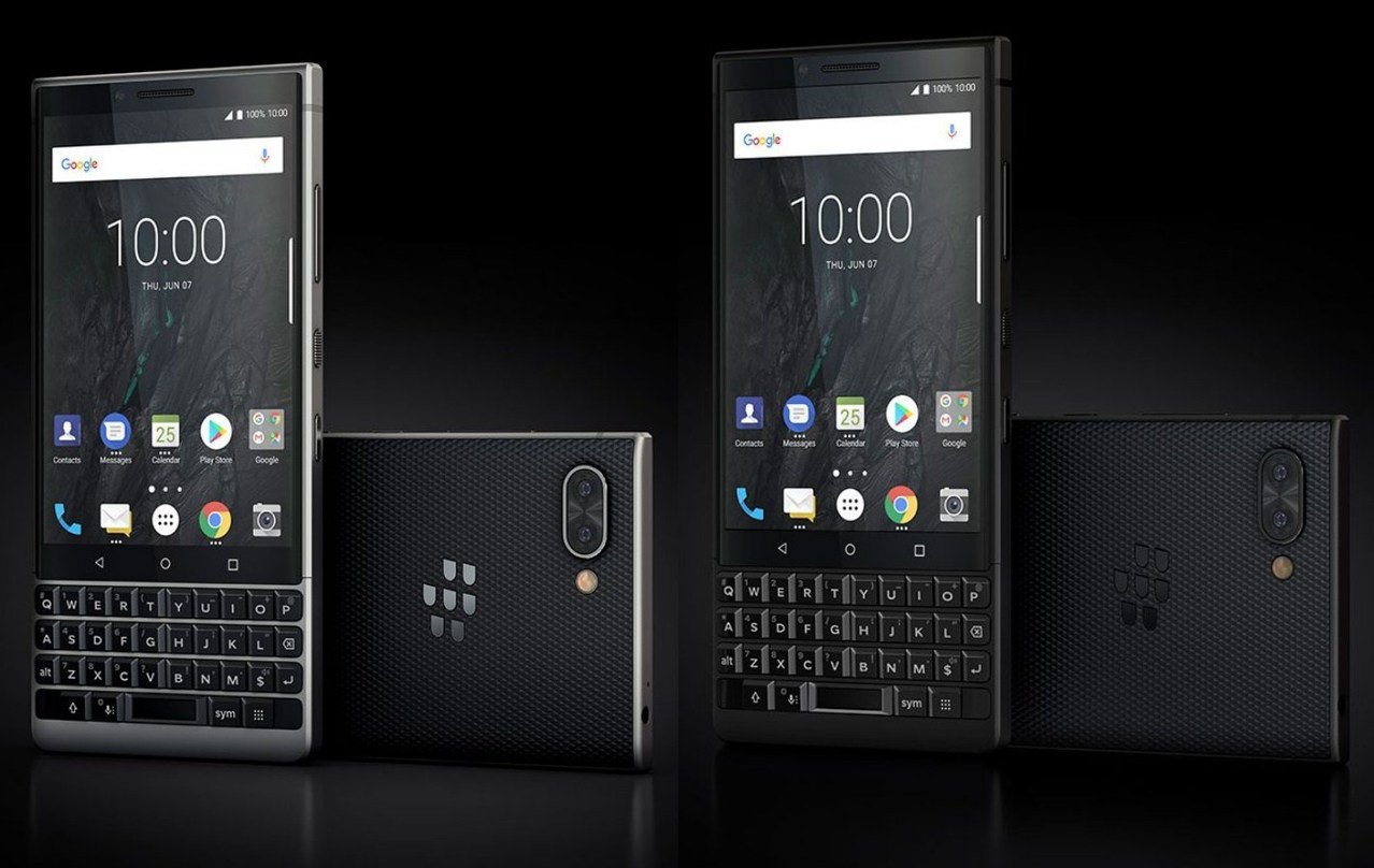(圖為BlackBerry Key2)