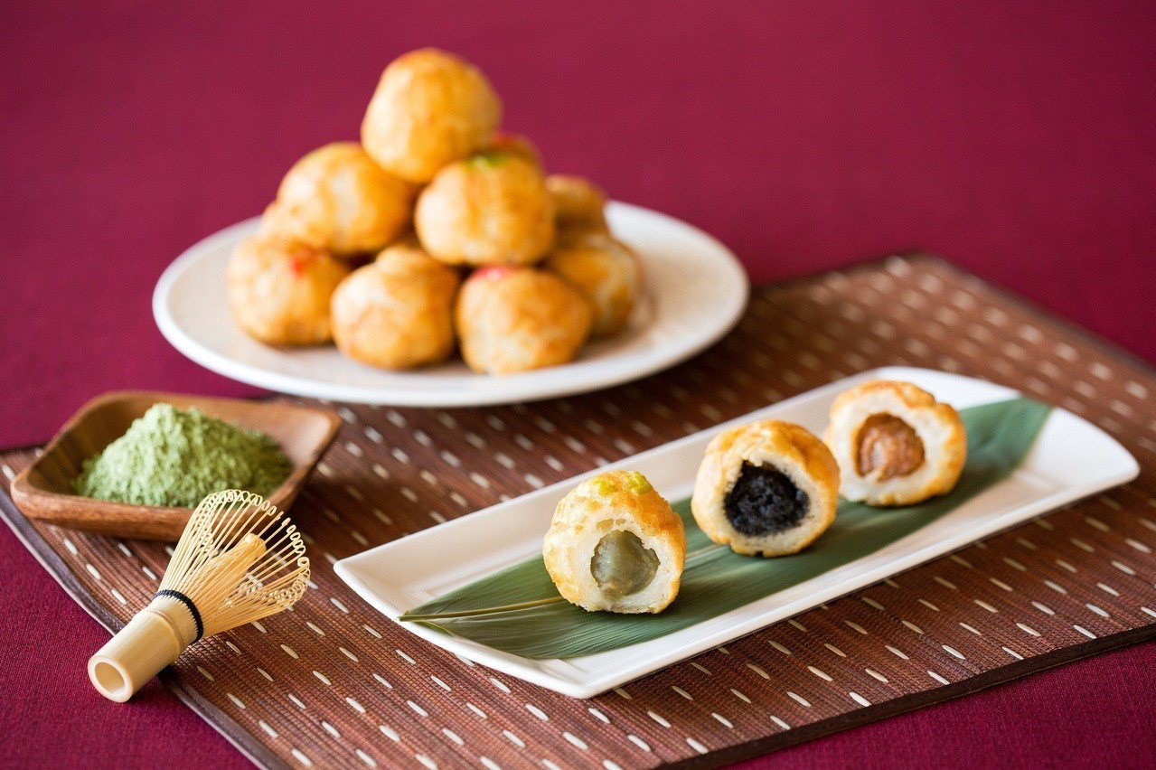 台北國賓川菜廳推出炸元宵。圖/台北國賓飯店提供
