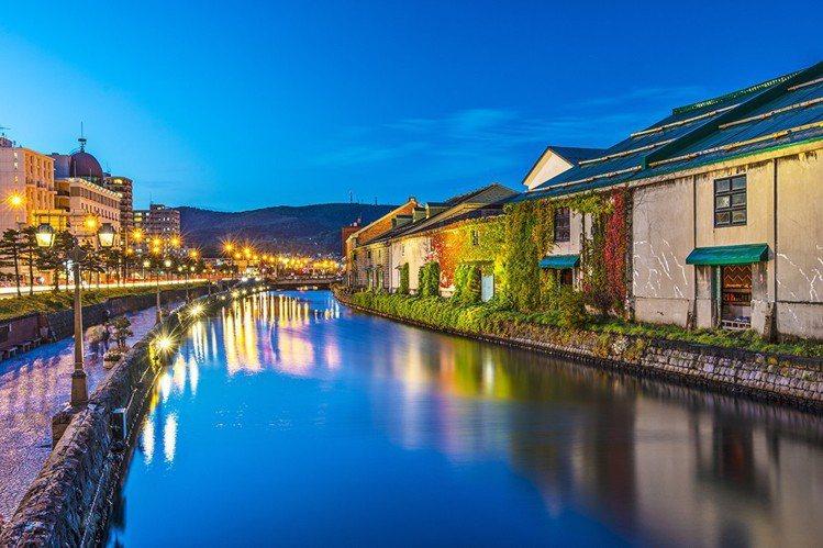 北海道小樽。圖/ezfly易飛旅遊提供