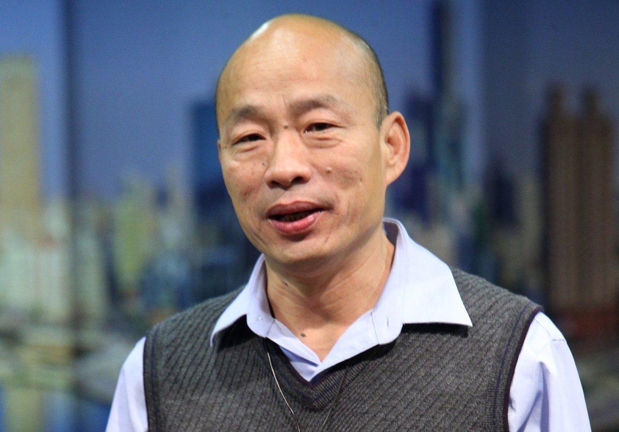 韓國瑜只要站上哈佛大學的講台上親身說法,便已達成彎弓射日的任務。本報資料照片
