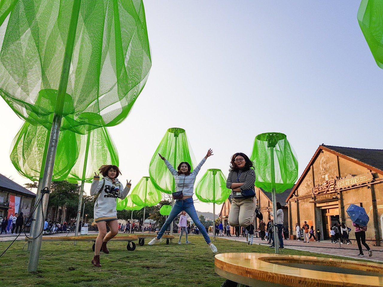 駁二藝術特區邀請韓國知名新銳建築師梁秀印跨國合作,打造全新動力裝置作品「遠心林C...