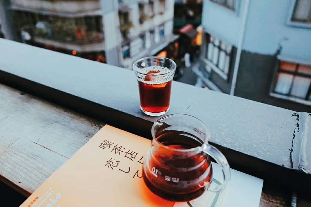 黑山咖啡以自烘的單品手沖為主。圖/黑山咖啡提供