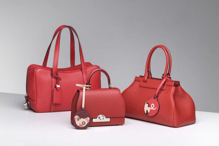 MOYNAT法式紅(左起)Limousine11萬9,500元、Rejane14...