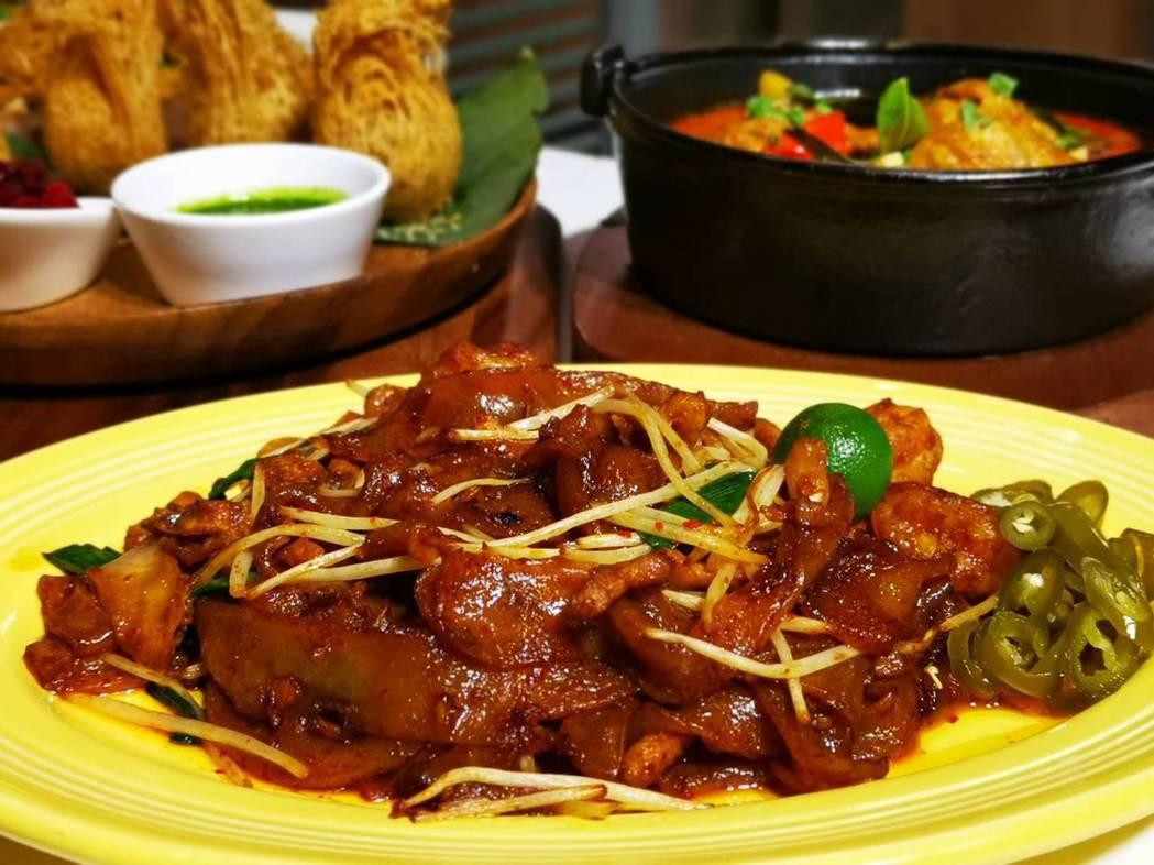 檳城香炒粿條。記者韓化宇/攝影