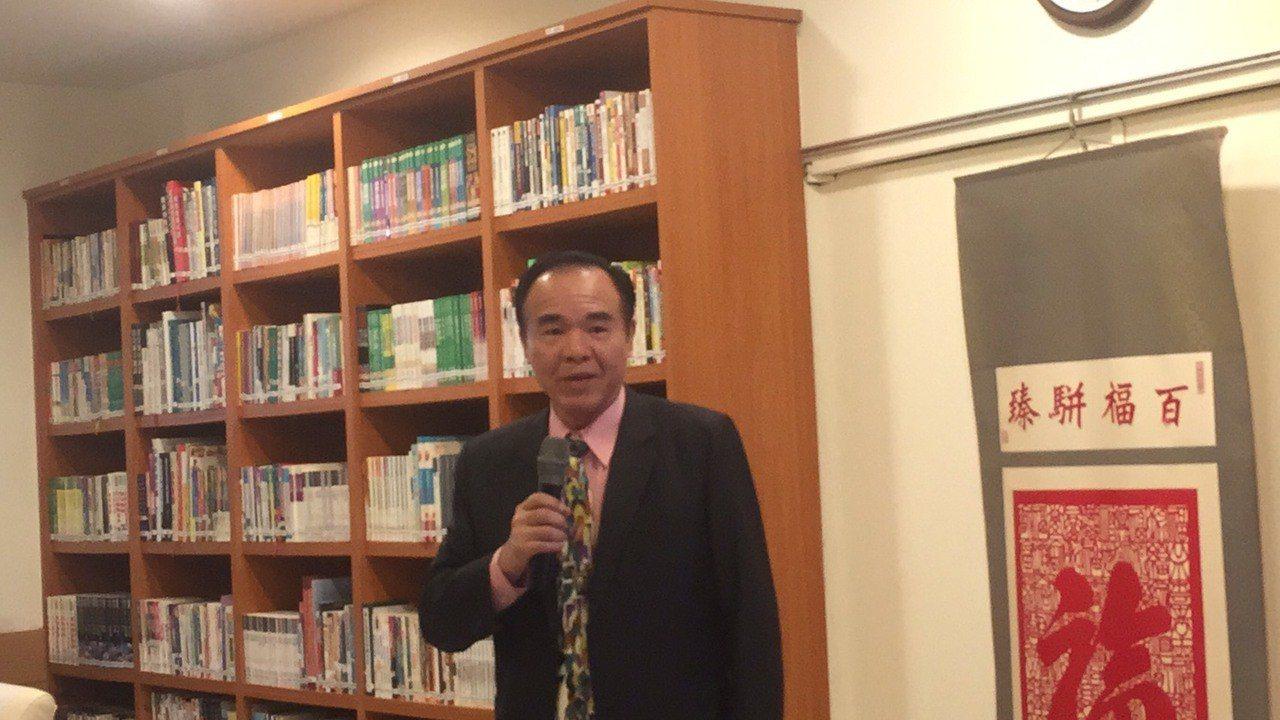 法務部矯正署署長黃俊棠。記者王聖藜/攝影