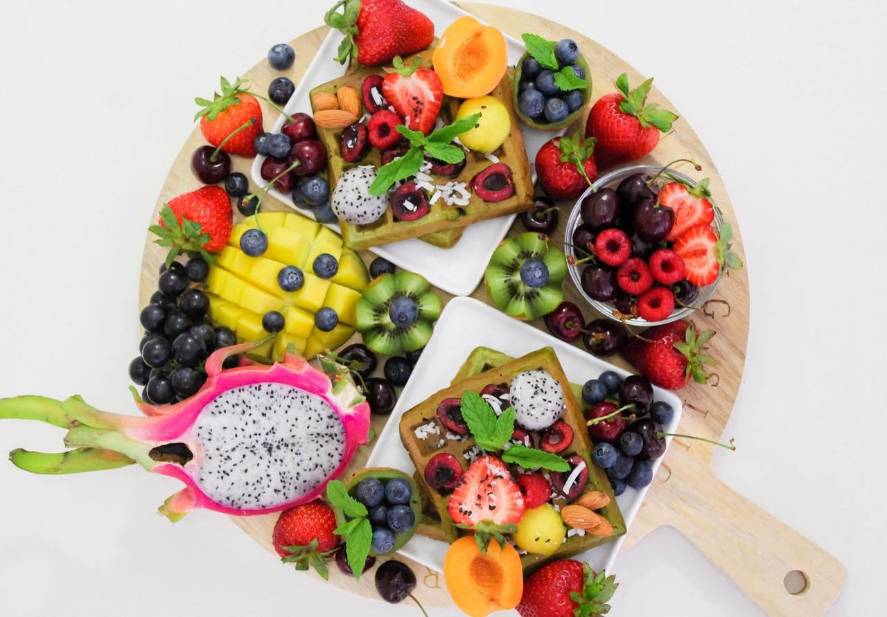 第二周晚餐只吃低糖分水果。圖/摘自pelexs