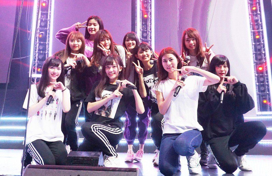AKB48 TEAM TP派出10位成員出征泰國。圖/好言娛樂提供