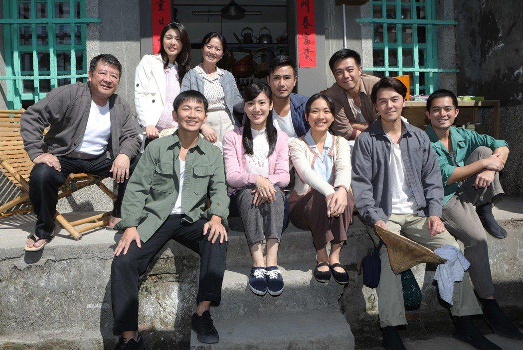 「苦力」劇組在猴硐取景。圖/公視提供