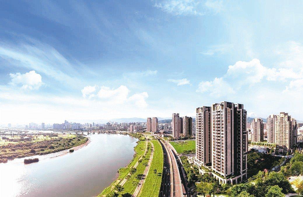 遠雄牡丹園是大台北難能可貴的中大坪數豪宅級規畫指標案,話題性十足。 圖/遠雄提供