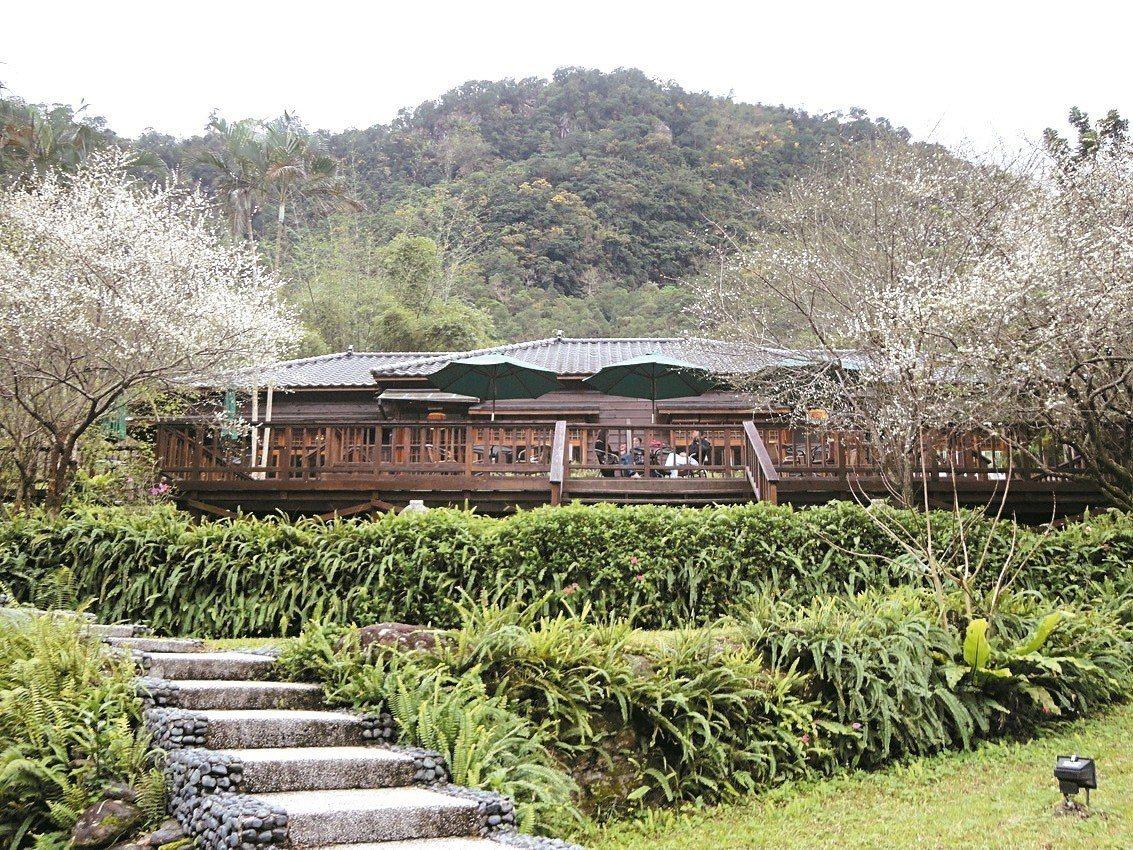 花蓮林田山林業文化園區,有如遺世獨立小山城,浪漫迷人。 花蓮林管處/提供
