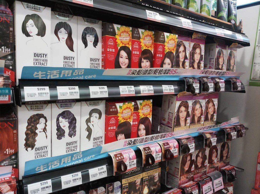 舒妃型色家系列商品,針對霧面髮色染後補色的訴求為主。舒妃/提供