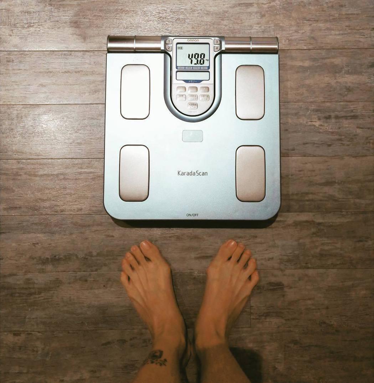 貝童彤產後目前體重是49公斤。 圖/擷自貝童彤臉書