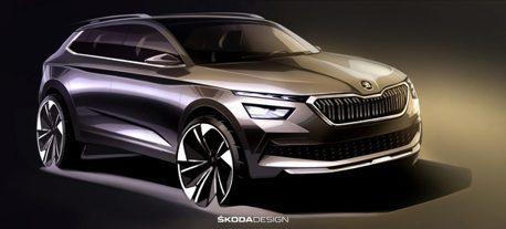全新ŠKODA Kamiq發表在即 造型與概念車超相似!