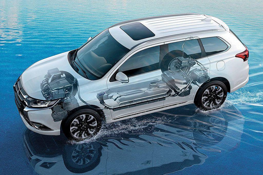 三菱Outlander PHEV不僅是英國市場最熱賣的Plug-In Hybrid休旅車,去年歐洲市場也賣出超過2.3萬輛成績。 圖/Mitsubishi提供