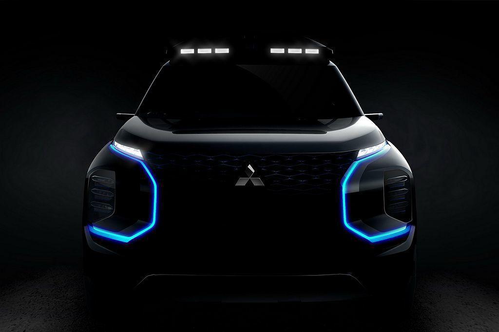 即將在3月登場的瑞士日內瓦車展,三菱汽車表示將推新概念車。 圖/Mitsubishi提供