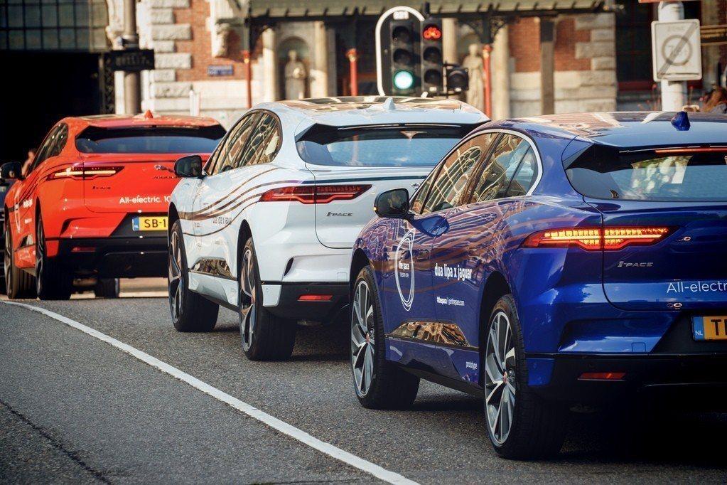 Jaguar第三款休旅就是純電I-Pace。 摘自Jaguar