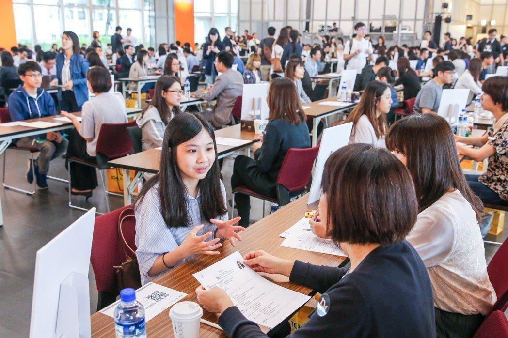 示意圖。媒體常以大學畢業生求職英文能力不足作報導。 圖/聯合報系資料照